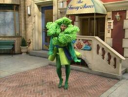 Celina as Broccoli