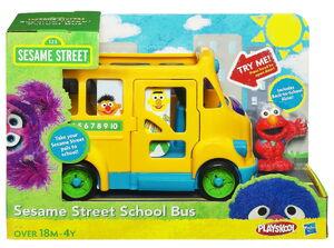 Sesame street school bus hasbro 1