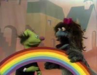 Windy rainbow