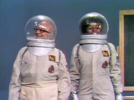 Astronaut Hooper and Susan