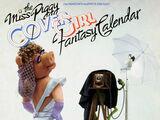 The Miss Piggy Cover Girl Fantasy Calendar