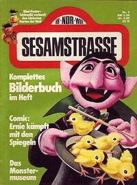 Sesamstrasse Zeitschrift nr 3