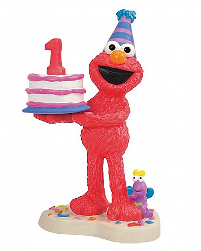 Sesame Street birthday figurines