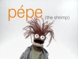 Muppetism Pepe shrimp