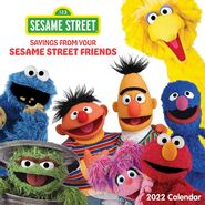 Sesame Calendar 2022 front