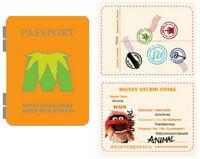 Passport pin animal