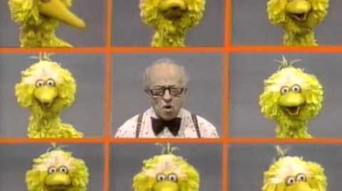 Did this segment air? Big Bird Rhymes Hooper (Sequel)