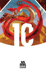 Jim Henson's Storyteller - Dragons 01-Variant - 10 Years - Kyla Vanderklugt