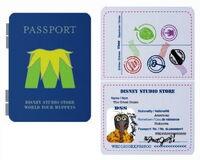 Passport pin gonzo
