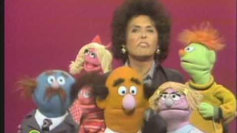 Sesame Street Lena Horne and Muppets Sing The Alphabet