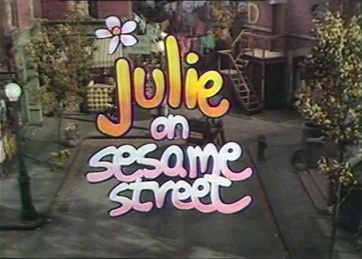 Julie on Sesame Street