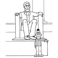 Lincoln monument bert