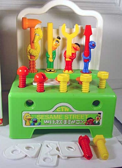 Sesame Street Workbench