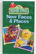 Sesame Street Family Video Collection New Faces & Places 1994 VHS