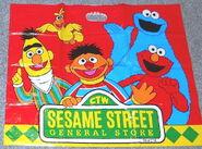 Sesame street general store shopping bags cc
