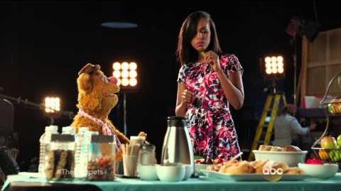 The Muppets (ABC) Fozzie Bear and Kerry Washington Promo HD