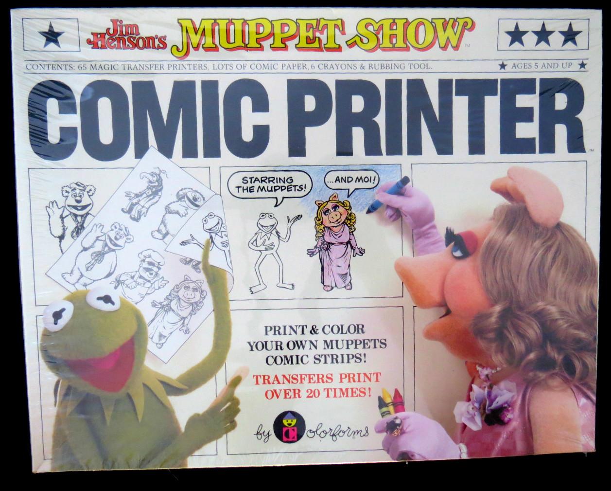 Muppet Show Comic Printer