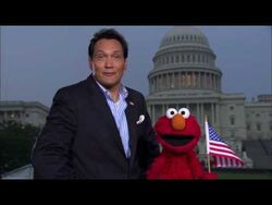 Jimmy Smits and Elmo in HD