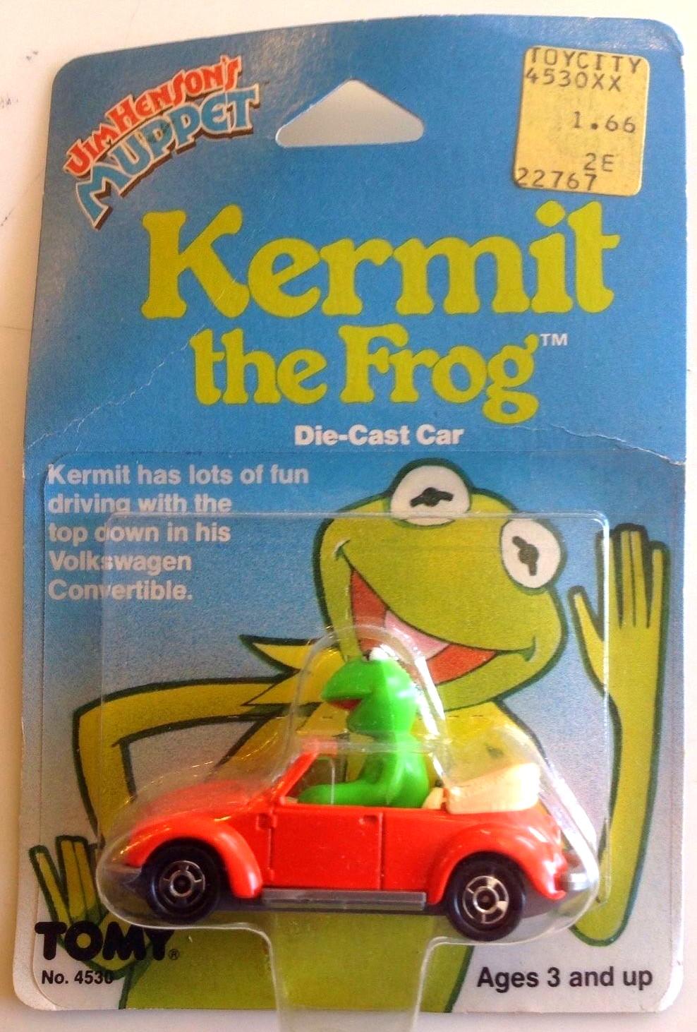 Muppet die-cast cars (Tomy)