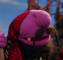 Purple one-tooth pirate