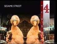 C4 Continuity Card for Sesame Street circa 1989!