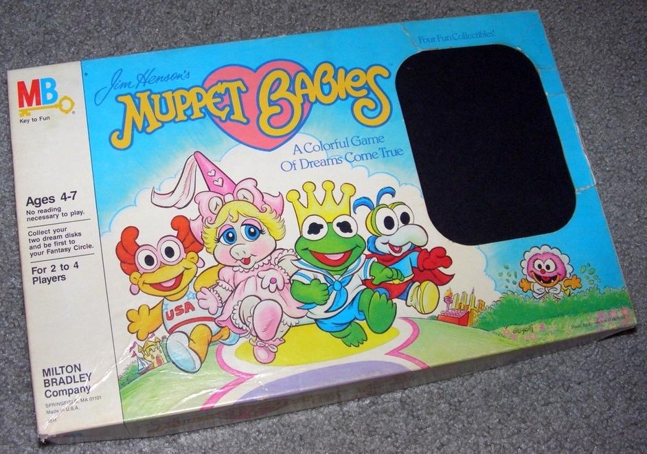 Muppet Babies (1985 board game)