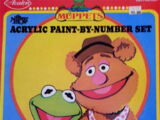 Muppet Paint by Number kits (Avalon)