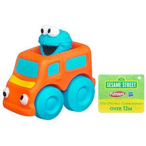 HasbroPlayskool-SesameStreet-Figures-WheelPals-CookieMonster