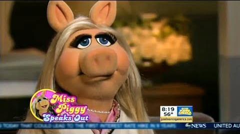 Miss Piggy on Good Morning America September 16th, 2015