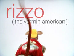Muppetism Rizzo vermin