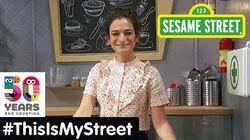 Sesame Street Memory Jenny Slate ThisIsMyStreet