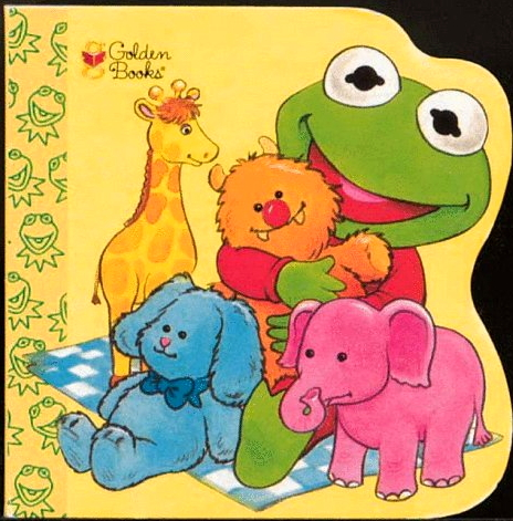 Baby Kermit's Color Book
