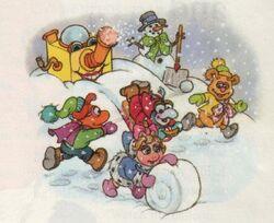 Babes in snowland.JPG