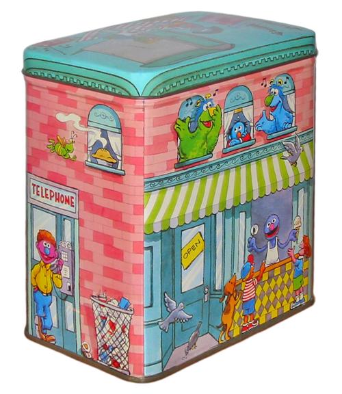 Sesame Street tin boxes (Applause)