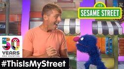 Sesame Street Memory Jack McBrayer ThisIsMyStreet