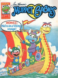 Muppet babies weekly uk 7 march 1987