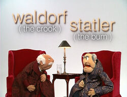 Muppetism crook bum