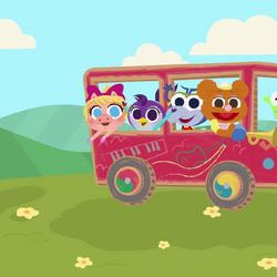 Music Nursery Rhymes Wheels on the Bus.png
