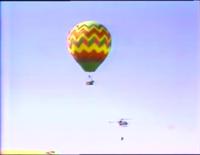 GMC balloon behind the scenes