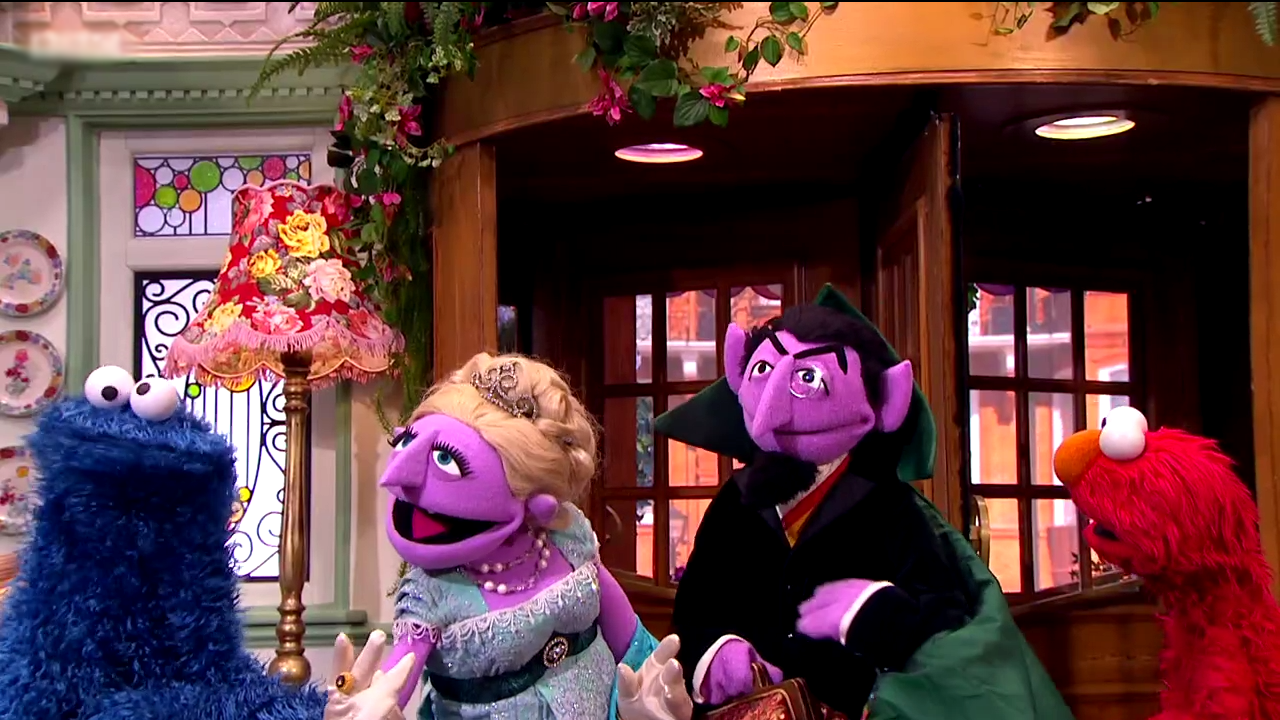 Count von Count's family