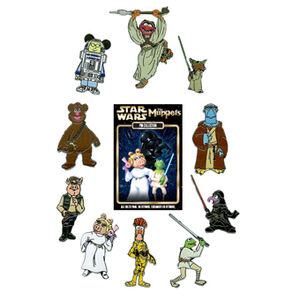 Muppet mystery pins star wars