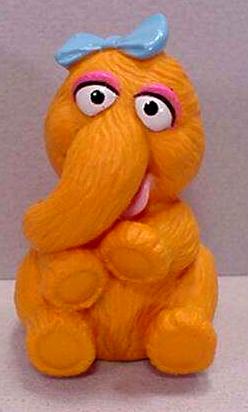Sesame Street finger puppets (Applause)