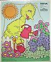 Playskool1988BigBirdGarden9pcs