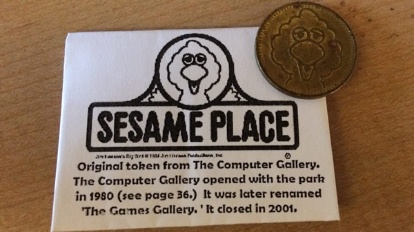 Sesame Place coin
