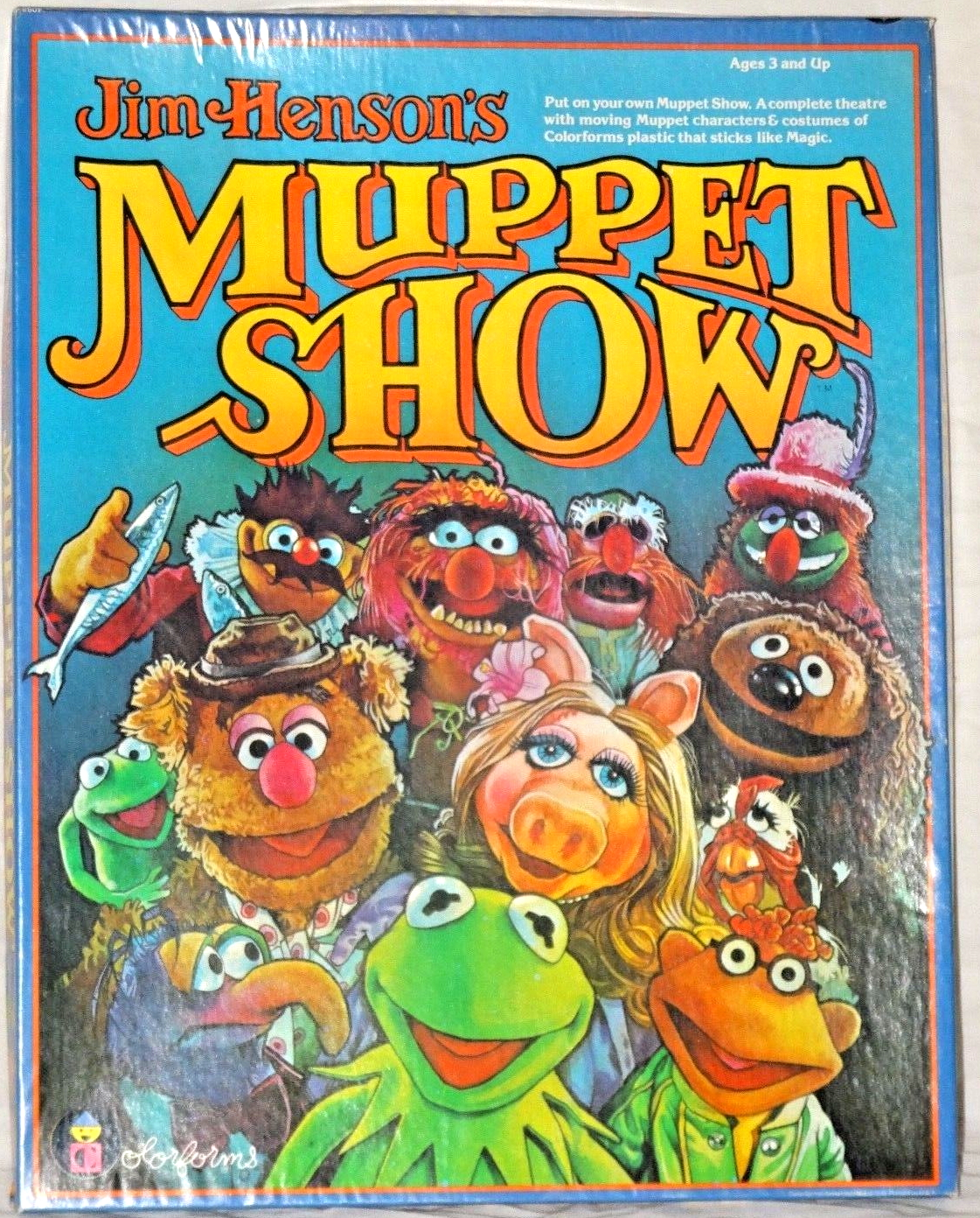 Muppet Show Colorforms