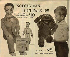 1967 ideal rowlf ad