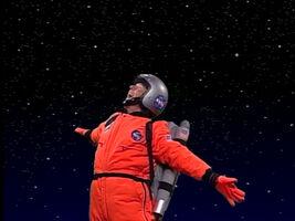 Dennis Quaid astronaut