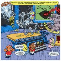 Robot muppet babies star comic 13