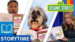 Sesame Street The Monster at the End of This Book Celebrity Read Along