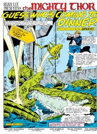Thor-beinggreen